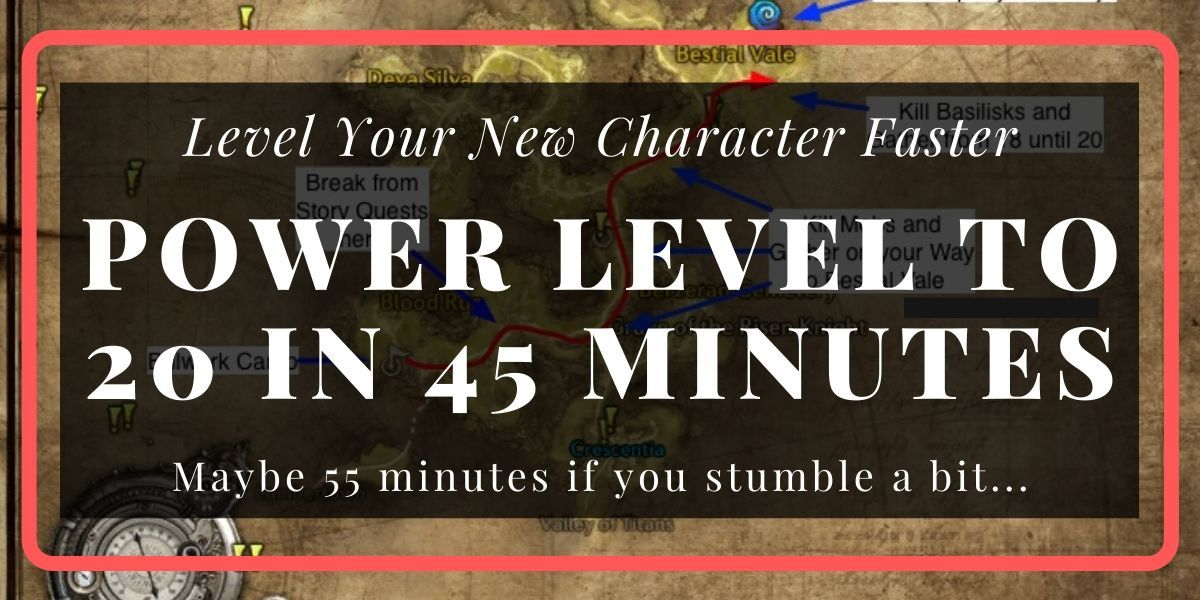 TERA Power Leveling to 20 in 45 Minutes