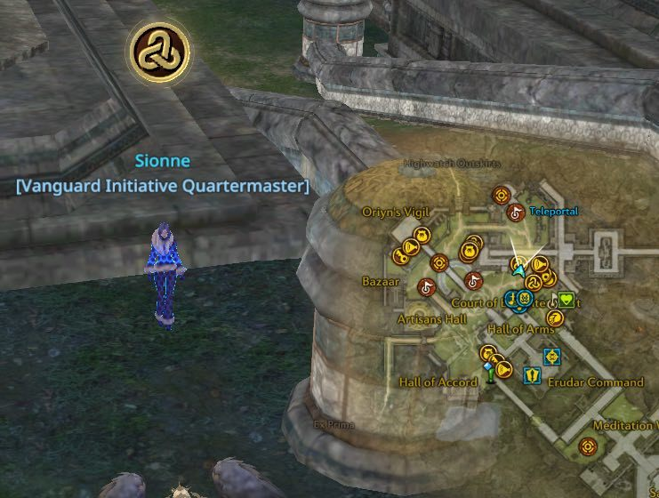 Sionne in Highwatch