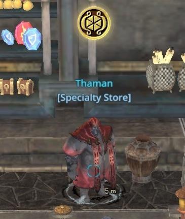 Specialty Merchant NPC